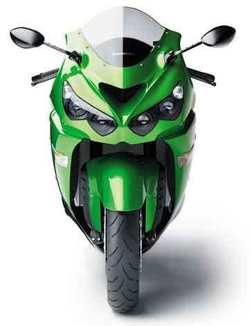 Kawasaki ZZR 1400 2012