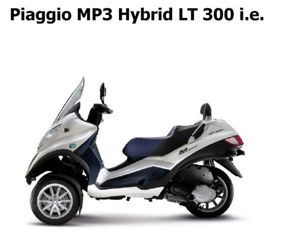 Piaggio ΜΡ3 Hybrid LT300ie