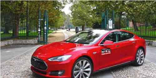 Tesla Model S ηλεκτρικό αυτοκίνητο με αυτονομία πάνω απο 400 χλμ…